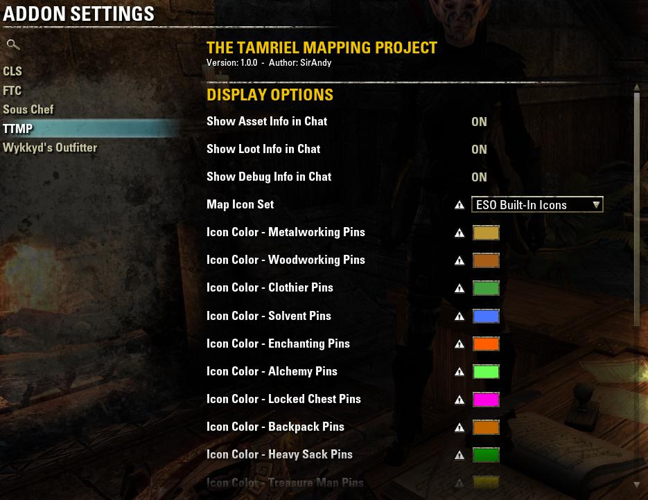 TTMP] - The Tamriel Mapping Project — Elder Scrolls Online